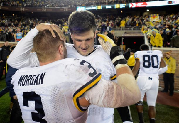 No. 15 Michigan Wolverines Defeat Minnesota Golden Gophers With Last Second Goal Line Stop