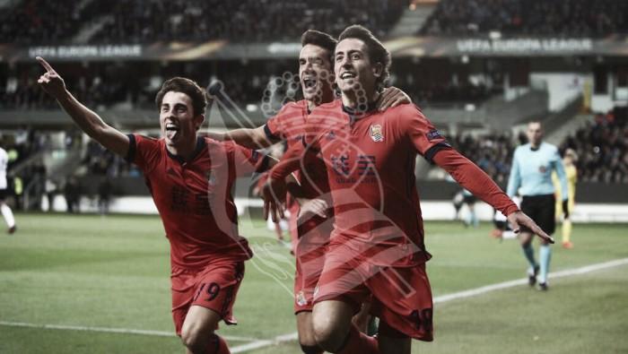 Real Sociedad supera Rosenborg no fim e confirma classificação à próxima fase da UEL