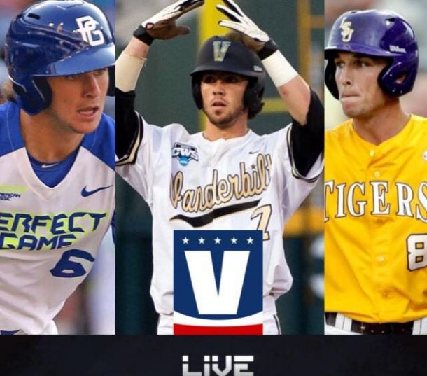 2015 MLB Draft Results of Round 1