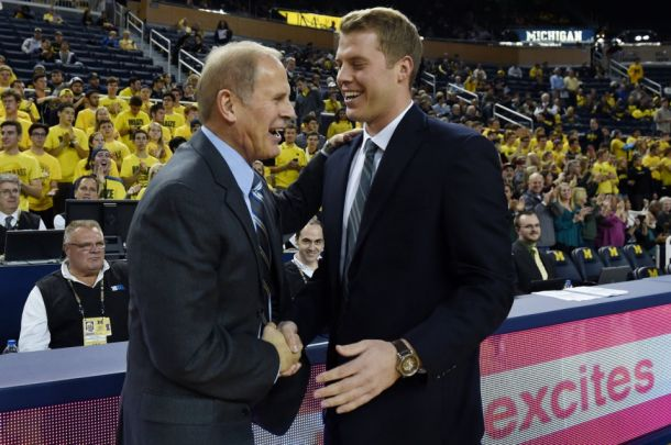 Michigan Wolverines Top Le Moyne Dolphins In Battle Of The Beileins