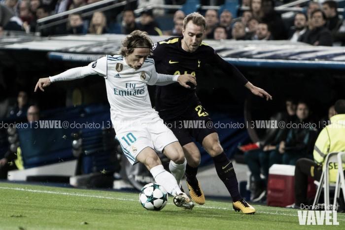 Goleiros brilham, Real Madrid e Tottenham empatam e seguem na liderança do Grupo H
