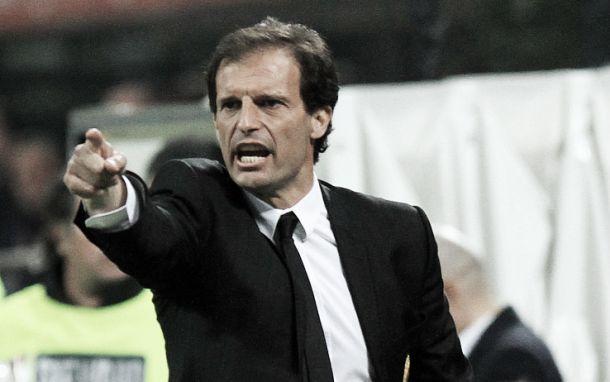 """Massimiliano Allegri: """"La Juve debe intentar mantenerse al nivel de los grandes de Europa"""""""