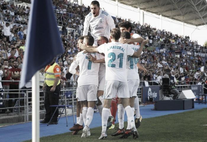 Cristiano Ronaldo desencanta e Real Madrid vence Getafe no fim