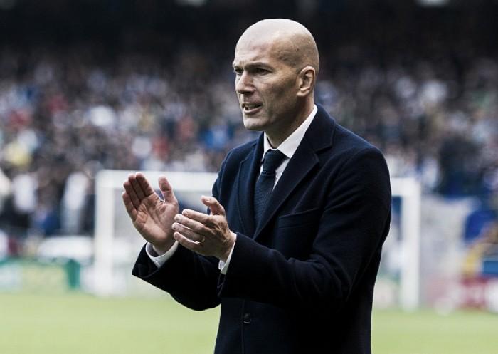 """Apesar de perder o título, Zidane elogia Real Madrid pela campanha: """"Estou orgulhoso"""""""