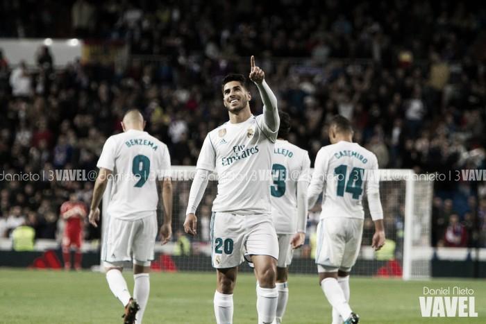 Asensio marca golaço e Real Madrid supera Las Palmas com tranquilidade