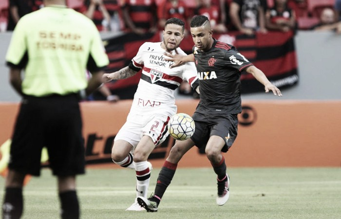 Em situações distintas, São Paulo e Flamengo se enfrentam no Morumbi