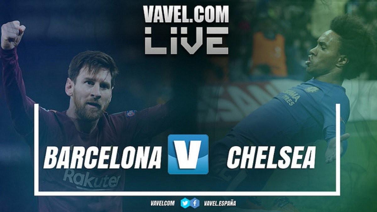Resultado Barcelona 3x0 Chelsea pela UEFA Champions League 2017/18