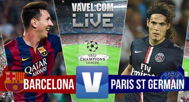 Resultado Barcelona x PSG na Champions League 2015 (2 - 0)