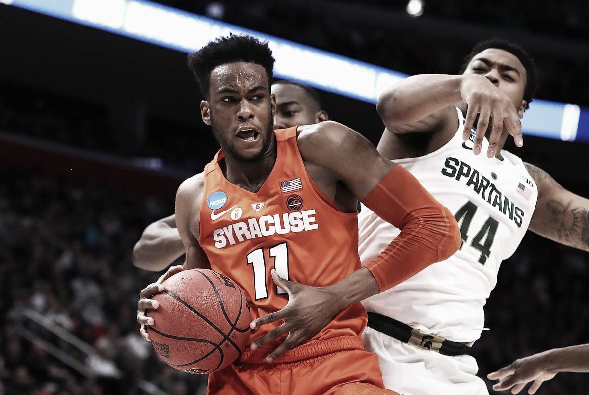 Em jogo equilibrado, Syracuse bate Michigan State e se classifica ao Sweet 16; Purdue também avança