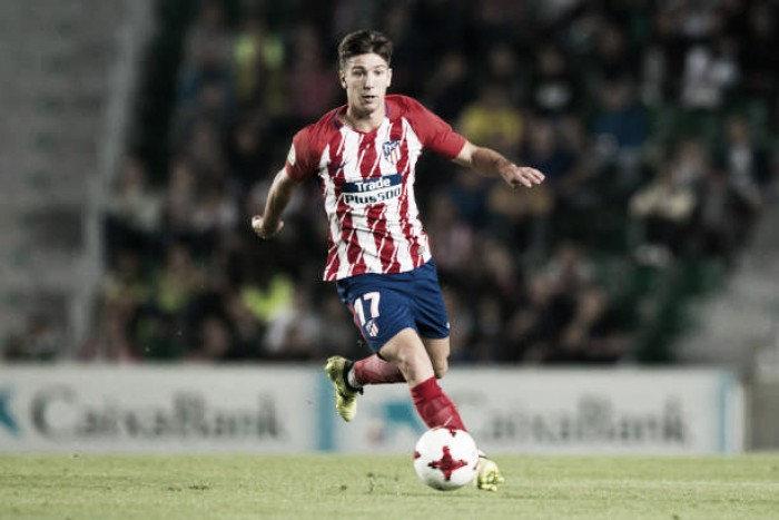 Dirigente do Atlético de Madrid confirma empréstimo de Vietto ao Sporting-POR