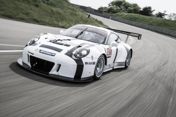 Porsche apresenta novo 911 GT3-R em Nurburgring