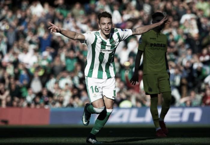 Loren Morón marca dois na sua estreia e Betis supera Villarreal