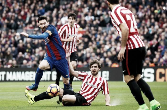 Barcelona: Messi e Paulinho garantem triunfo em San Mamés