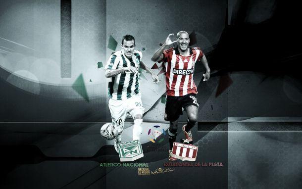 Resultado Atlético Nacional vs Estudiantes en vivo (1-1)