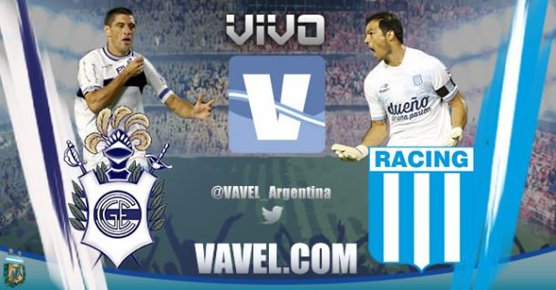 Resultado Gimnasia y Esgrima La Plata - Racing Club 2014 (0-1)