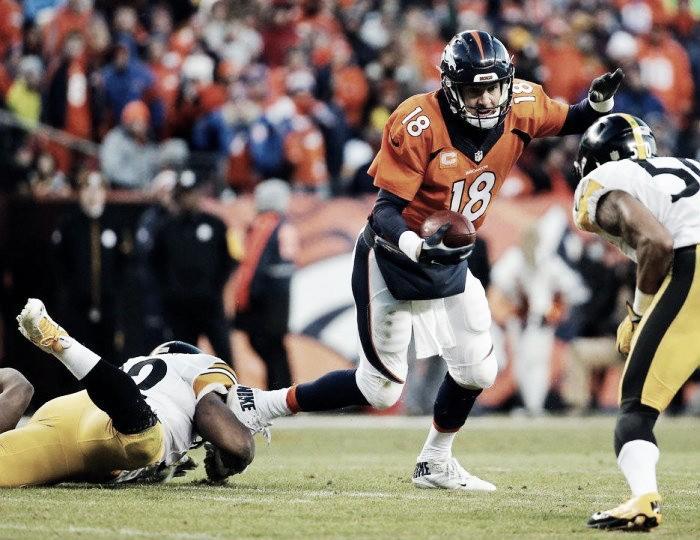 Broncos batem Steelers de virada e garantem vaga na final da AFC