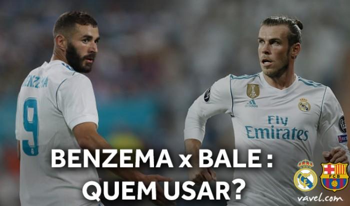 Benzema x Bale: quem Zidane utilizará no El Clásico?