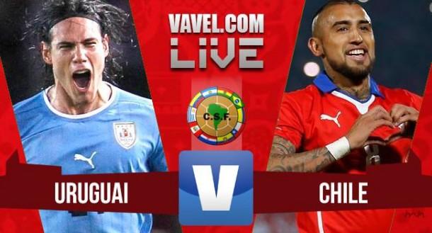 Resultado Uruguai x Chile nas Eliminatórias da Copa do Mundo 2018 (3-0)
