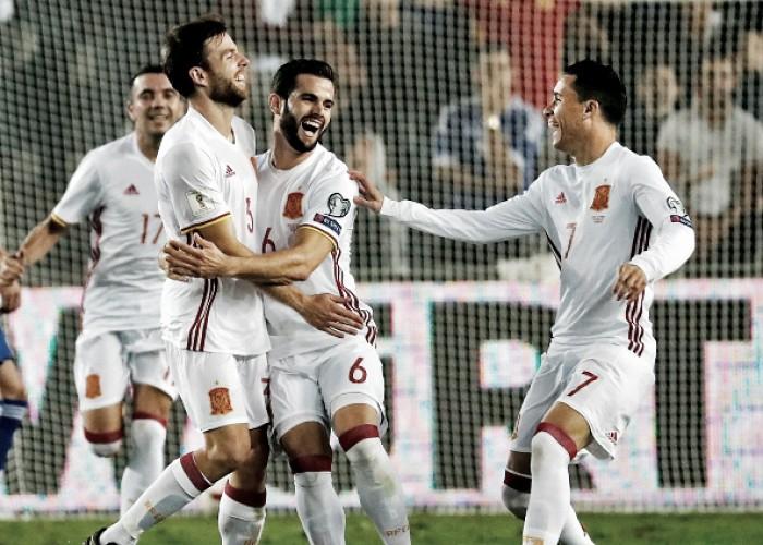 Espanha bate Israel com golaço de Illarramendi e encerra Eliminatórias de forma invicta