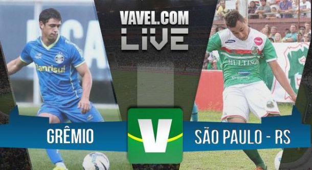 Grêmio x São Paulo-RS ao vivo no Campeonato Gaúcho 2015 (2-0)