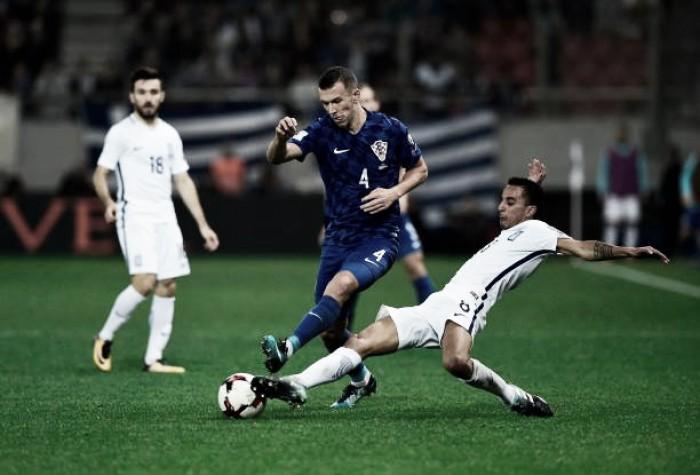 Croácia administra vantagem, empata sem gols com Grécia e garante vaga na Copa