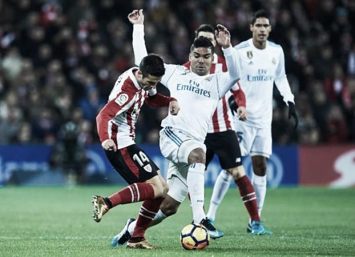 Real Madrid empata sem gols com Bilbao e perde chance de diminuir diferença para Barcelona