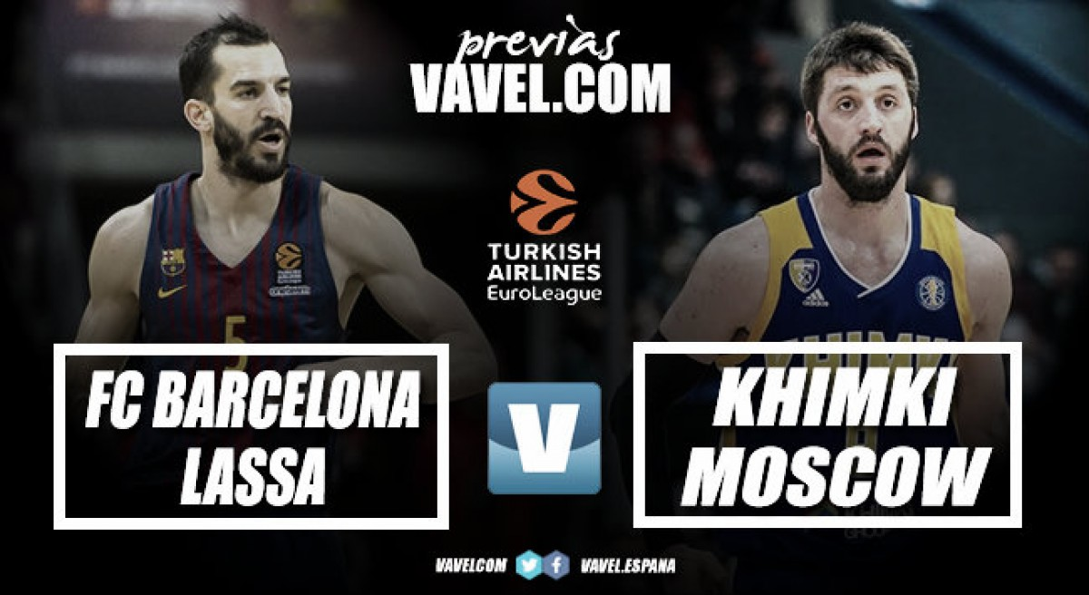 Previa FC Barcelona Lassa vs Khimki Moscú : Los azulgranas cierran la Euroliga en el Palau ante Bartzokas