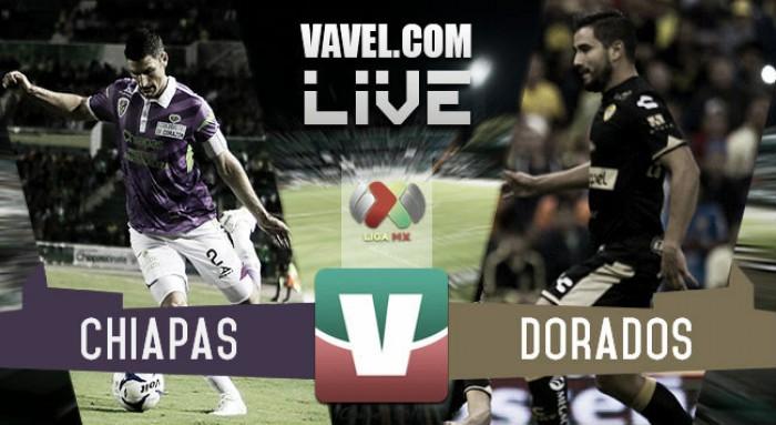 Resultado Jaguares Chiapas - Dorados en Liga MX 2016 (1-0)