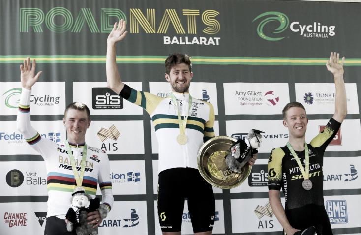 Luke Durbridge sorprende consagrándose campeón de Contrarreloj de Australia