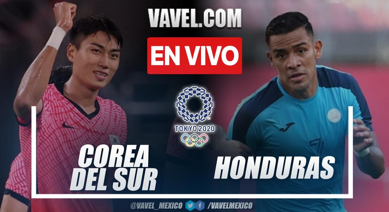 Resumen Corea 6-0 Honduras en Juegos Olímpicos 2020