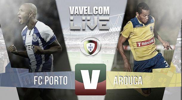 FC Porto x Arouca    na Liga NOS (1-0)
