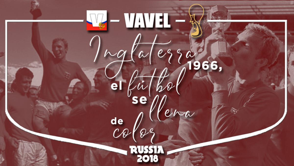 Inglaterra 1966, el fútbol se llena de color