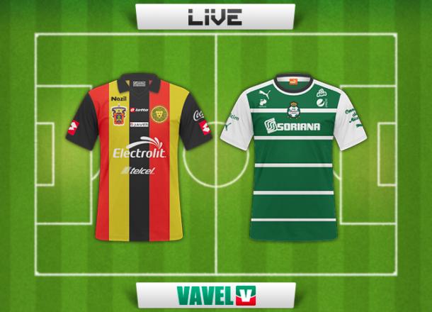 Resultado Leones Negros - Santos en Liga MX 2014 (1-1)