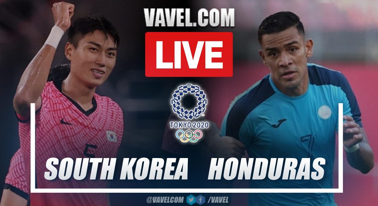 Goals and highlight: South Korea 6-0 Honduras in Olympics Men's Football