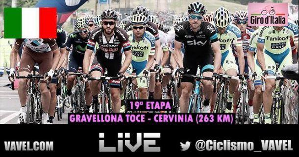 Giro d'Italia, 19^ tappa Gravellona Toce - Cervinia: vince Aru! Contador controlla Landa