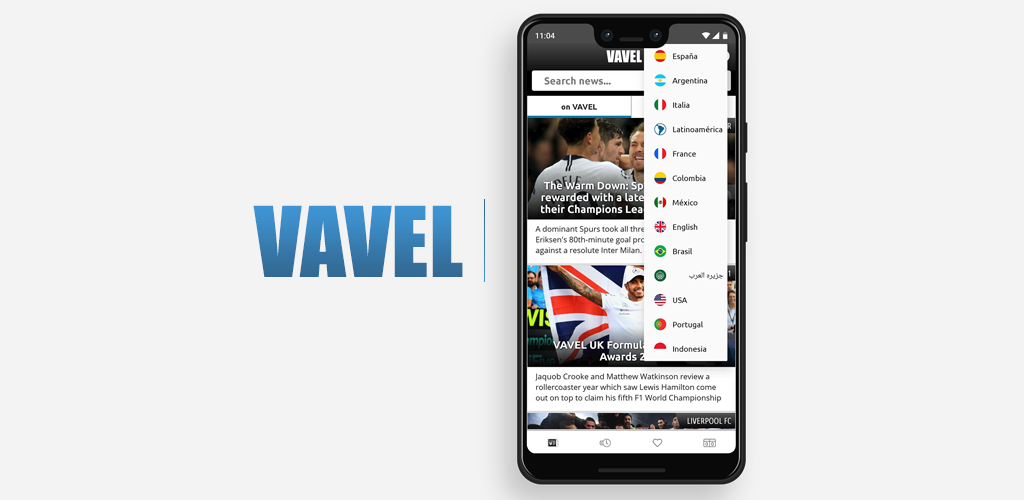 VAVEL launches Android app; download today!