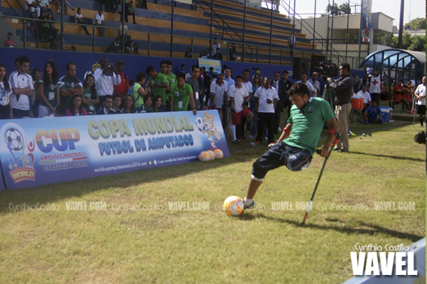 Se definen los octavos de final en el Mundial de Fútbol de Amputados 2014