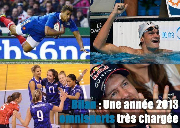 Rugby, Natation, Volley, Moteurs... Le bilan omnisports de 2013