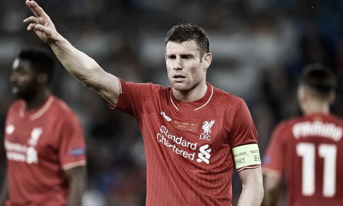 Milner demonstra frustração após perda do título da Uefa Europa League