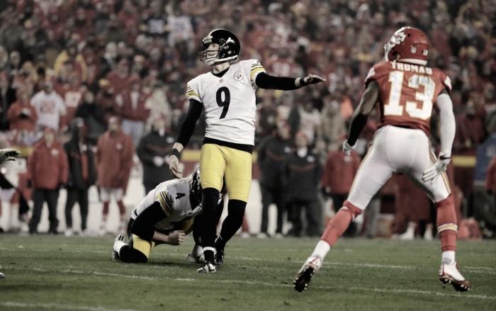 Mesmo sem marcar touchdowns, Steelers bate Chiefs e enfrenta Patriots na final da AFC