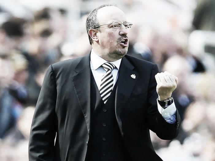"""Para Rafa Benítez, derrota do Newcastle na estreia é como um """"grito de alerta"""""""