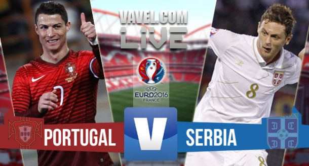Portugal vs Serbia en vivo online 2015 (2-1)