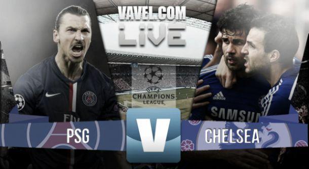 Diretta PSG - Chelsea, risultati live Champions League