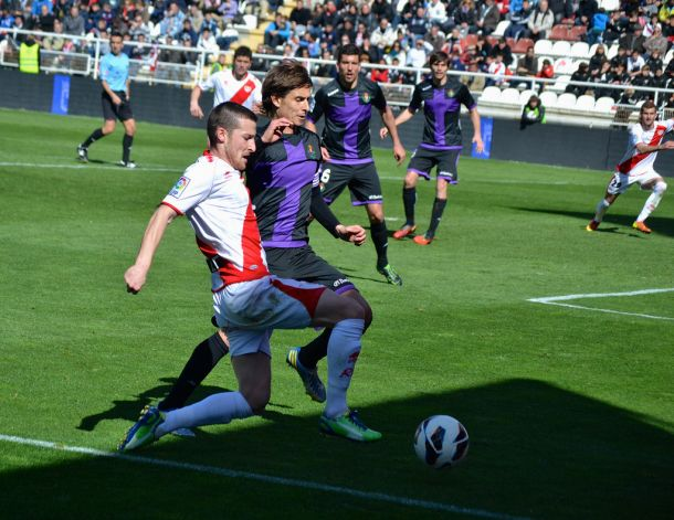 Resultado Rayo Vallecano - Real Valladolid en la Liga BBVA 2014 (0-3)