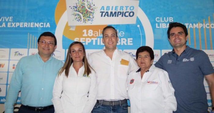 Presentan quinta edición del Abierto Tampico