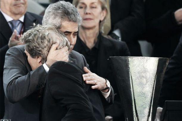Vieira e Jesus, maior dupla vencedora do Benfica nos últimos 25 anos