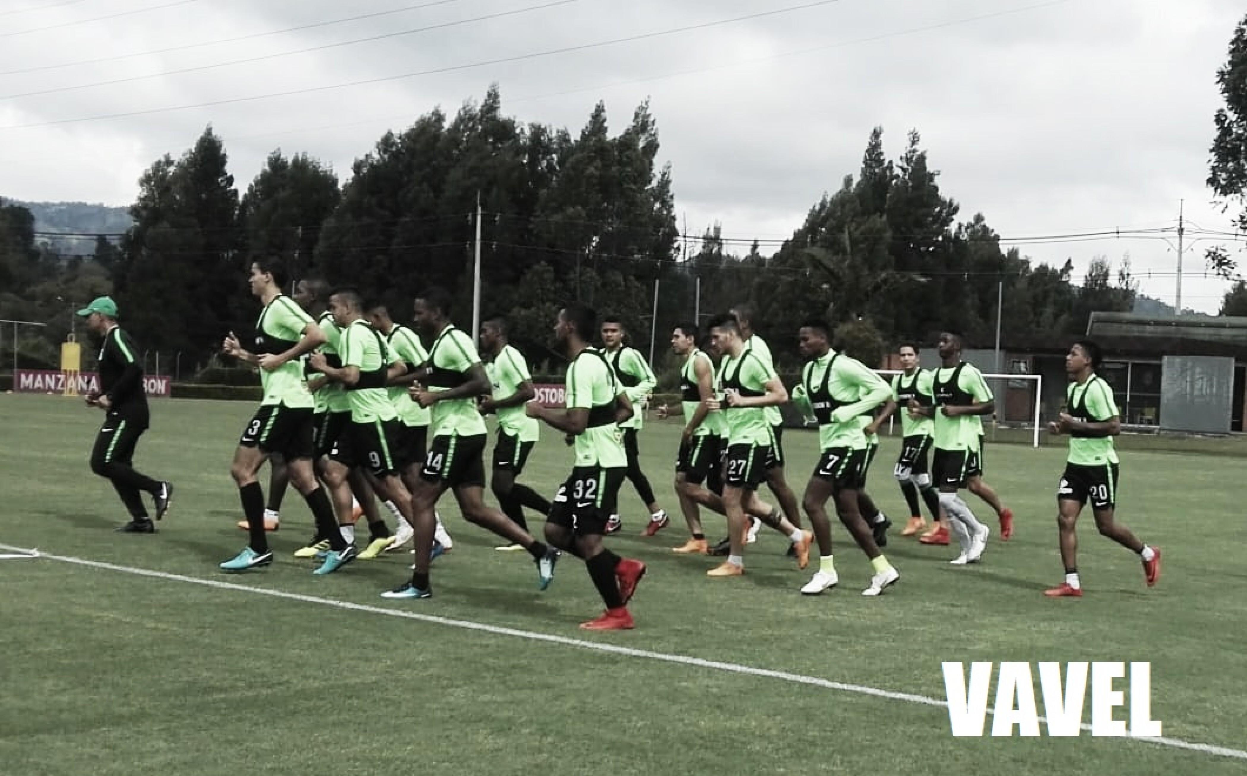 El Verde se prepara para el duelo de Copa contra Junior