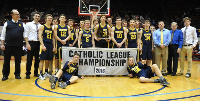 Shrine Knights Upset Our Lady Of The Lakes Lakers To Win Michigan Catholic League C-D Championship