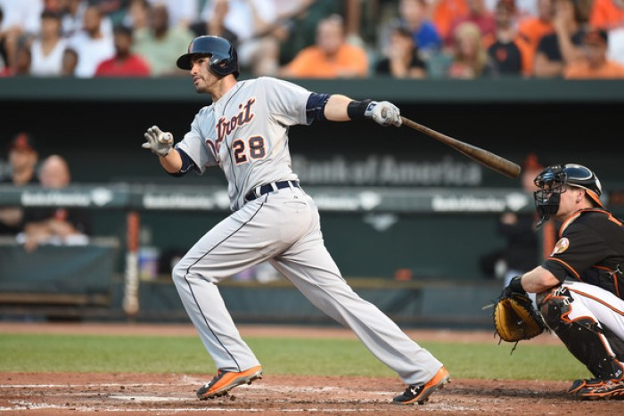 Detroit Tigers Agree To Two-Year, $18.5 Million Contract Extension With J.D. Martinez