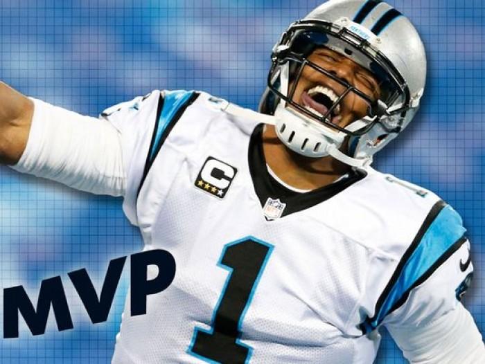 Carolina Panthers Quarterback Cam Newton Wins 2015 Most Valuable Player